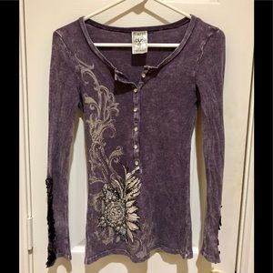 ⭐️NWT⭐️AMAZING LS THERMAL TEE by VOCAL